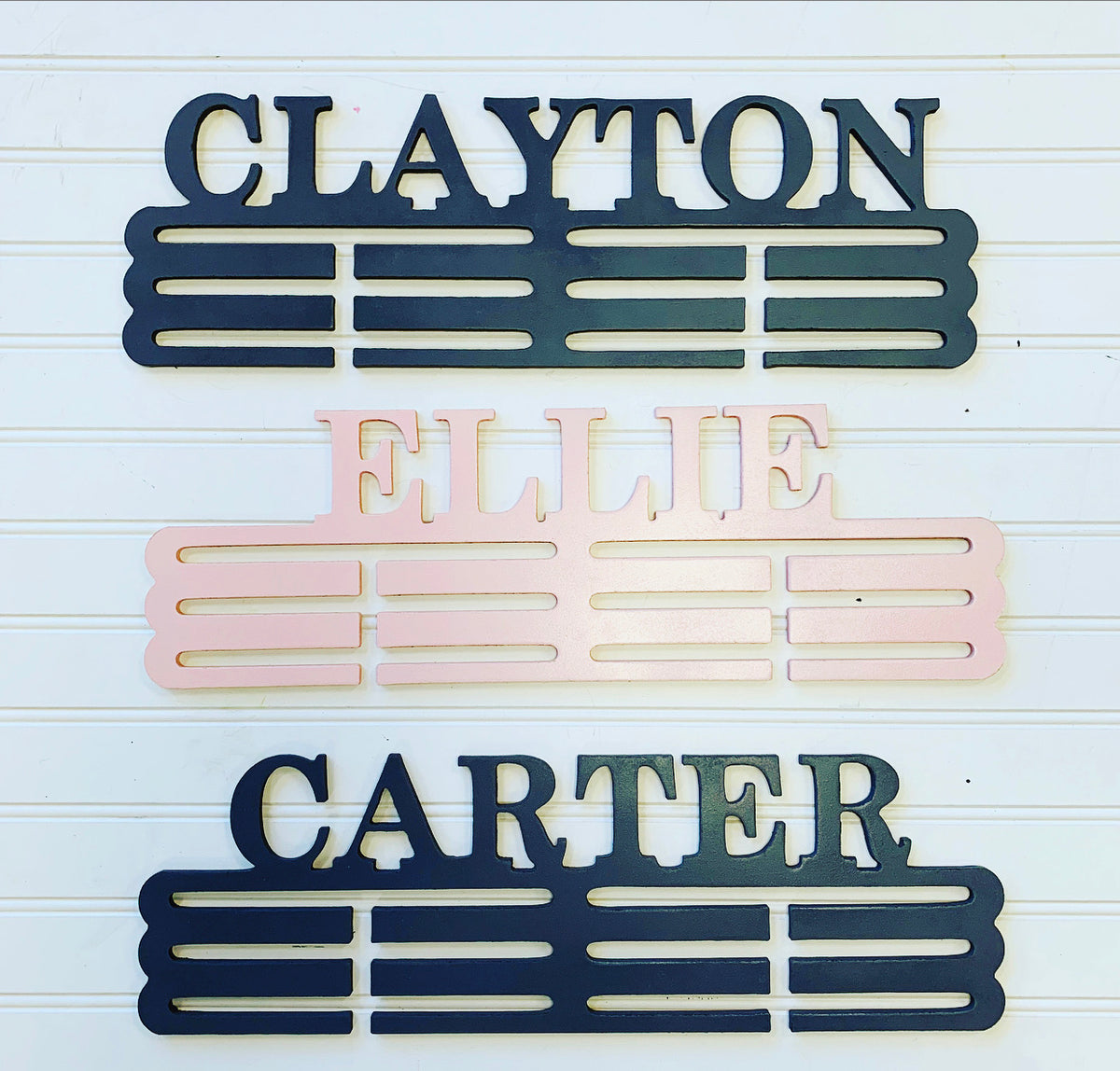 Details about  /3 Tier Acrylic Personalised Medal Hanger Holder Rack