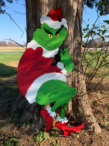 4 ft Grinch , yard decoration, Christmas Decoration