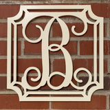 Gem Stone Monogram Wooden Letters | Wooden Monogram | front door | home| wedding