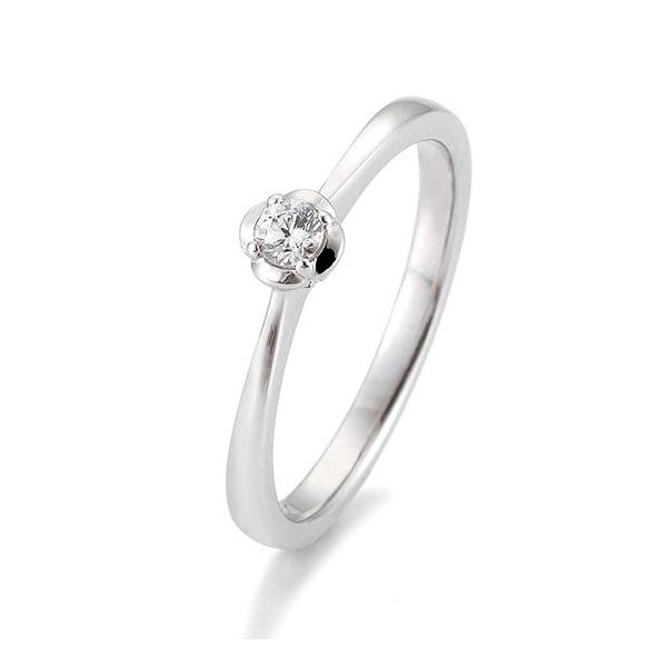 Diamantring · Fantasiefassung · 0,15ct · 41059520