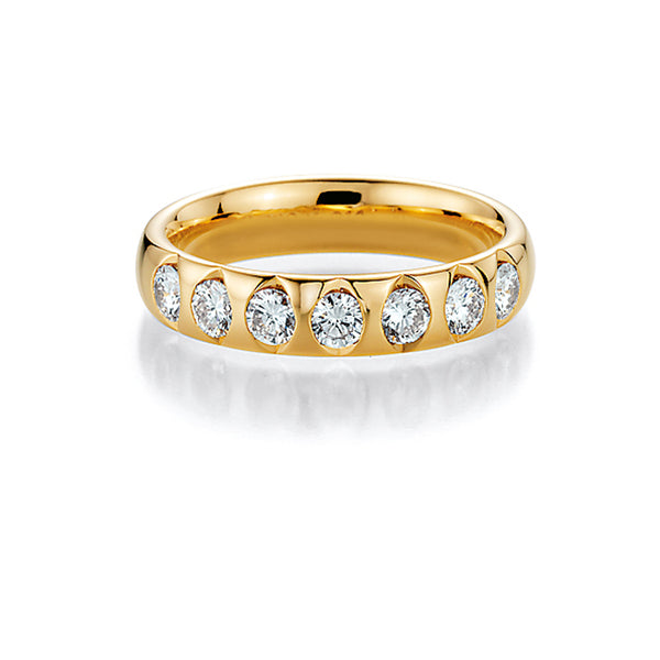 Memoire-Ring · 7 Diamanten (0,385ct.) · 31-7501/055