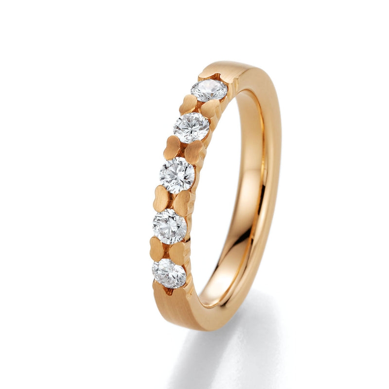 Memoire-Ring · 5 Diamanten (0,45ct.) · 31 5020/090