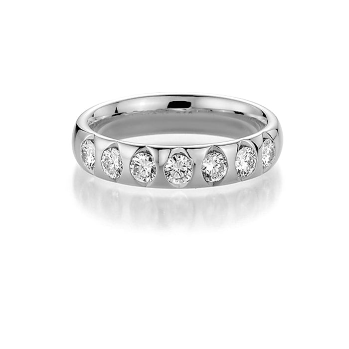 Memoire-Ring · 7 Diamanten (0,385ct.) · 31 7501/055