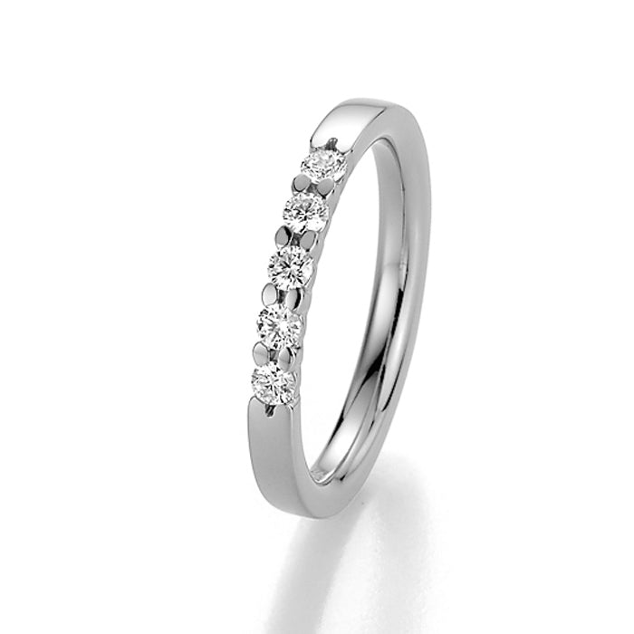 Memoire-Ring · 5 Diamanten (0,25ct.) · 31-5010/050