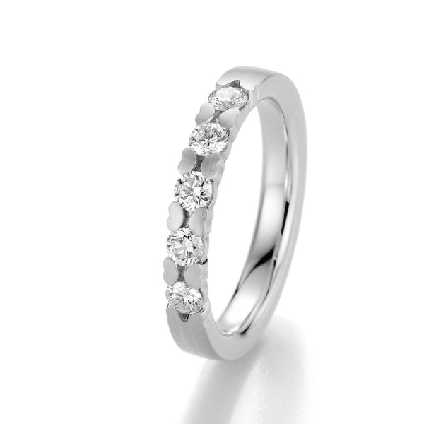 Memoire-Ring · 5 Diamanten (0,45ct.) · 31-5020/090