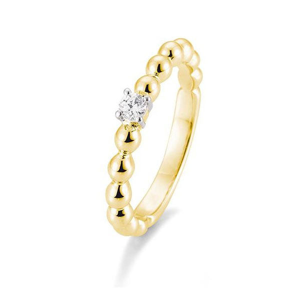 Diamantring · Kugel Ring · 0,10ct · 4105974