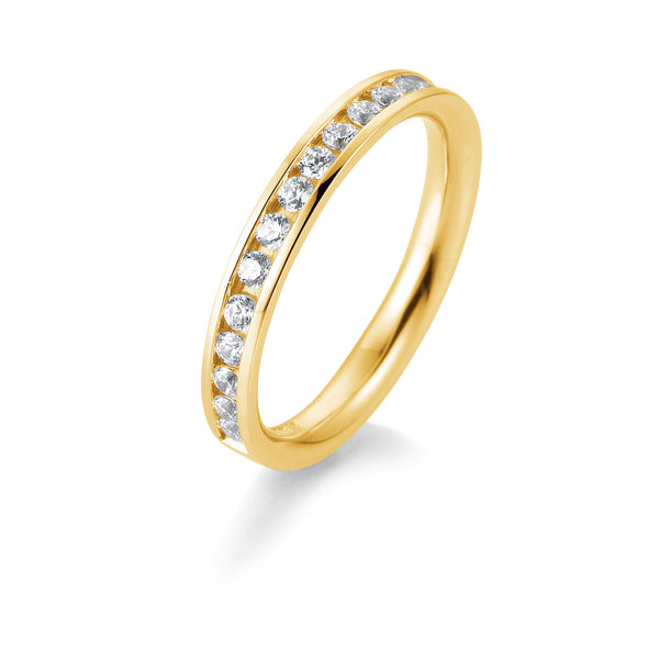 Memoire-Ring · Kanalfassung · 0,51ct · 41056600