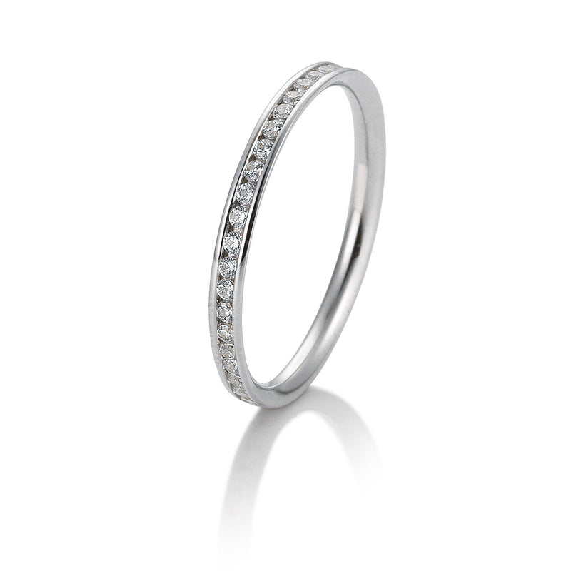 Memoire-Ring · Kanalfassung · 0,26ct · 41056440