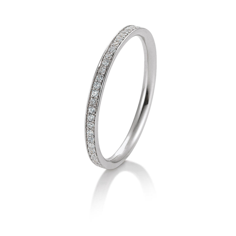 Memoire-Ring · Verschnittfassung · 0,165ct · 41056430