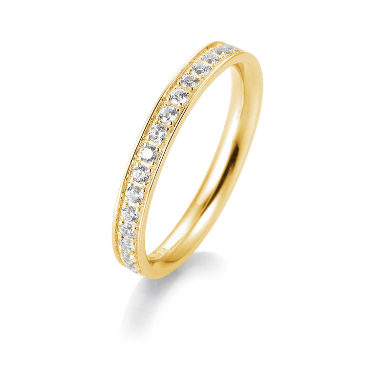 Memoire-Ring · Verschnittfassung · 0,40ct · 41056590