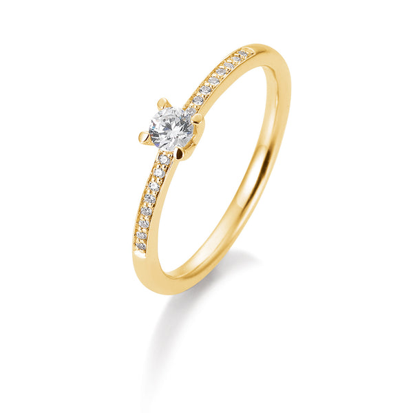 Fantasiering · 0,23ct Diamant · 41859510