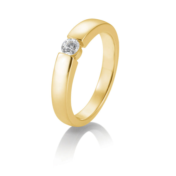 Diamantring · Spannringoptik · 0,25ct · 41821270