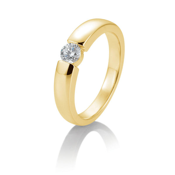 Diamantring · Spannringoptik · 0,30ct · 41859030