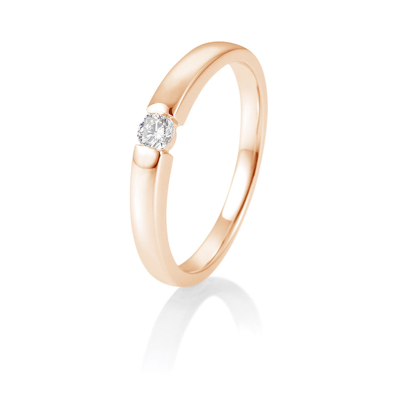 Diamantring · Spannringoptik · 0,10ct · 41821290