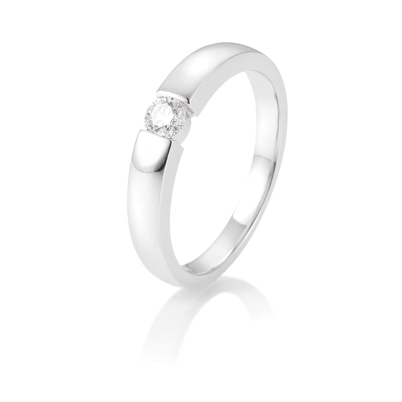 Diamantring · Spannringoptik · 0,15ct · 41821280
