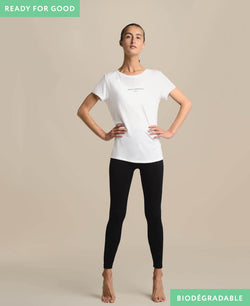 Ensemble de pilates femme biodegradable