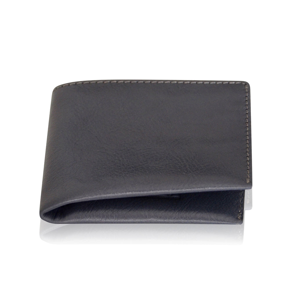 Handmade Leather Wallet, Black, Grey, Brown Leather Wallet, Mens Gift, Credit Card Wallet, Coins