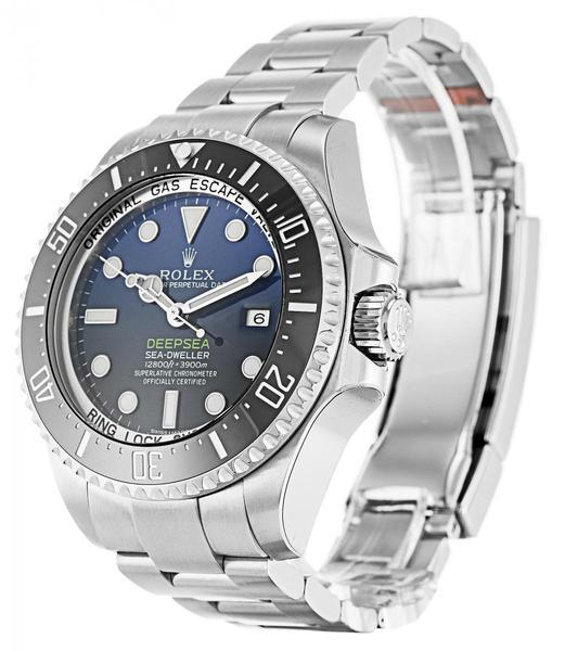 Rolex Deepsea D-Blue Dial 116660 - watches-2019