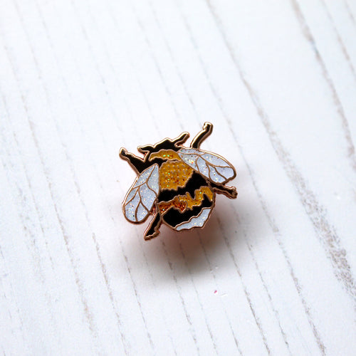 Ernie The Bee Enamel Pin