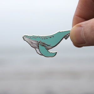 Mr. Humpback Whale Pin