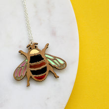 Early Bumblebee Necklace