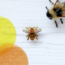 Carder Bee Enamel Pin