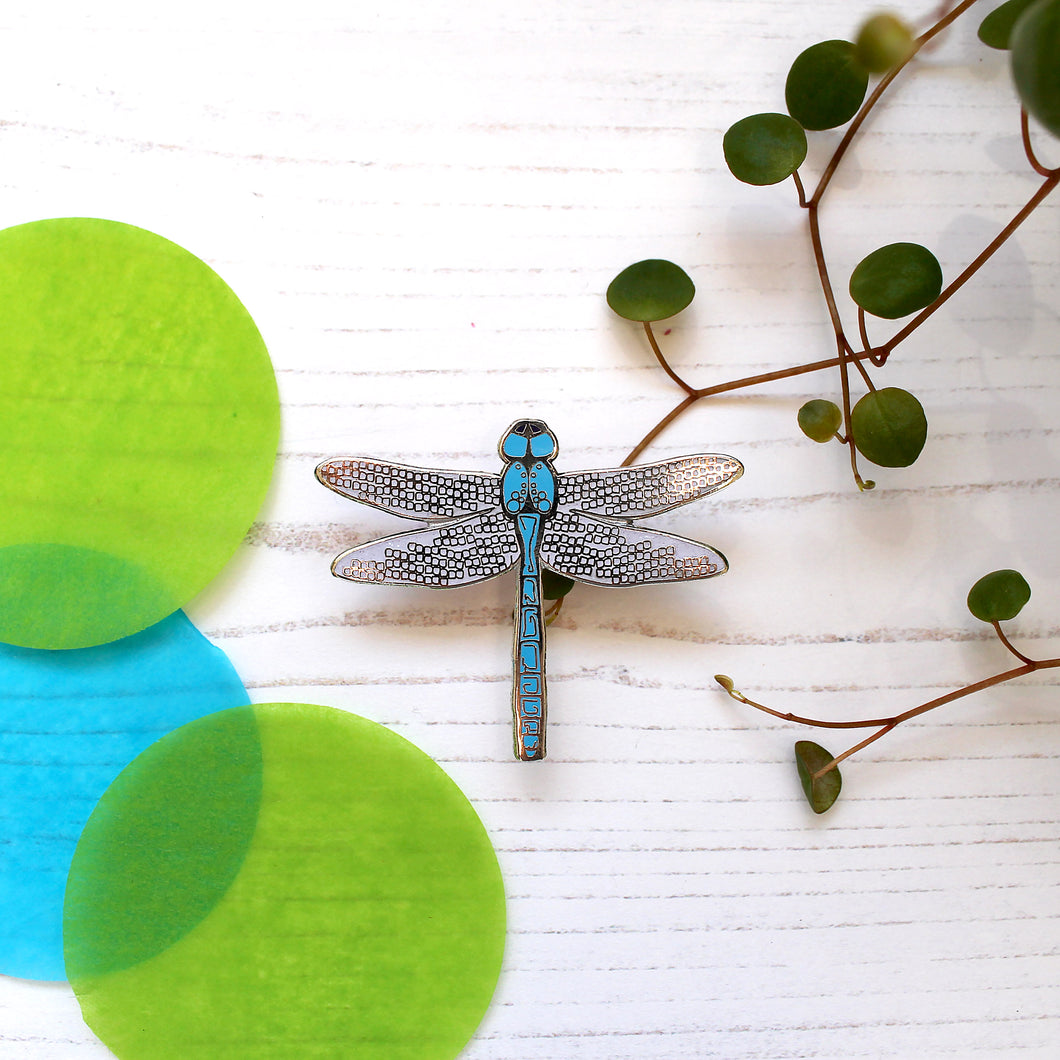 SECONDS Dragonfly Enamel Pin