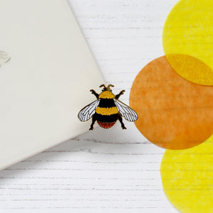 Early Bumblebee Enamel Pin