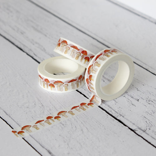 Toadstool Washi Tape
