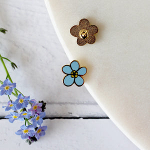 Forget Me Not Earring Studs