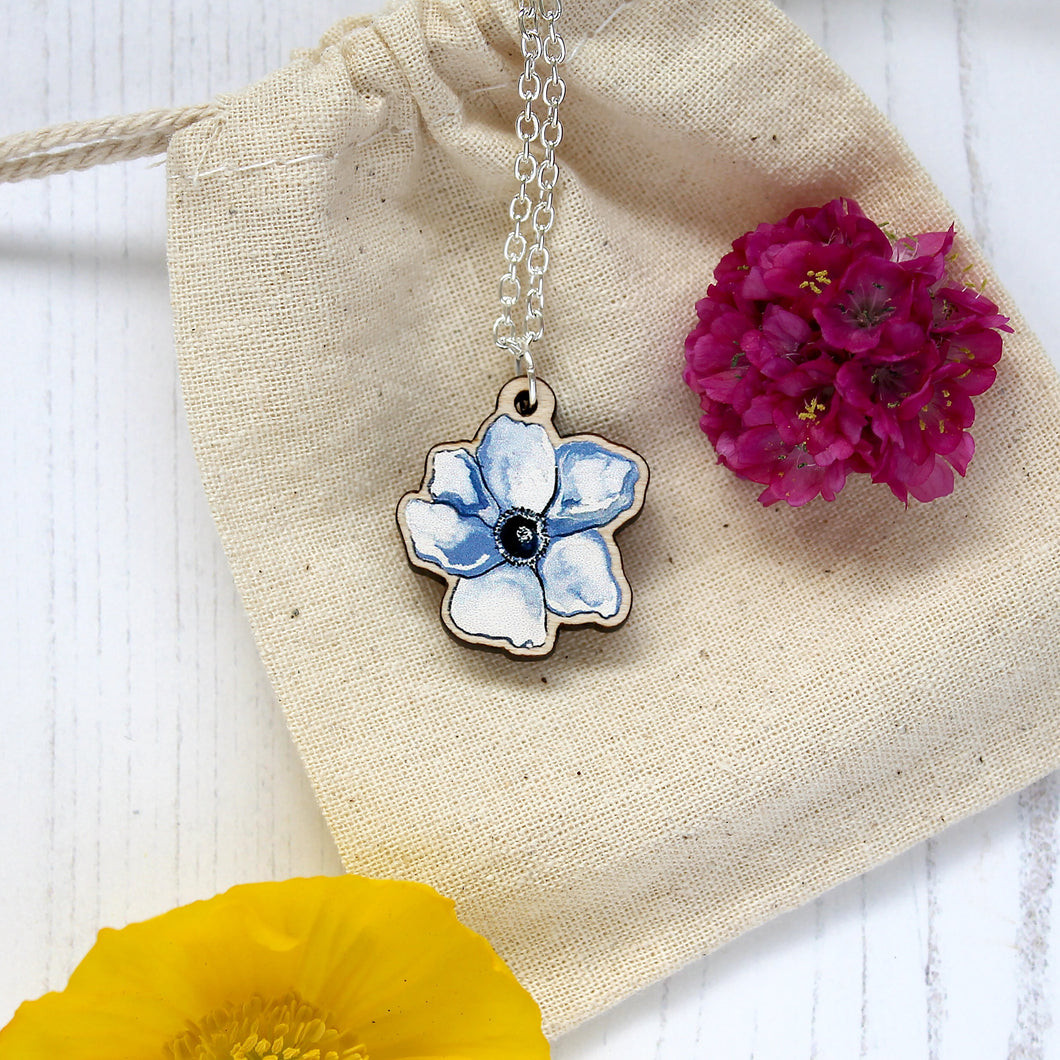 Anenome Flower Necklace