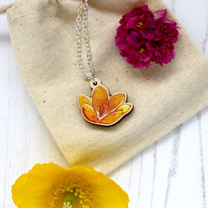 Crocus Pendant Necklace