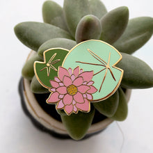 Water Lily Enamel Pin