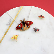 Emperor Moth Necklace