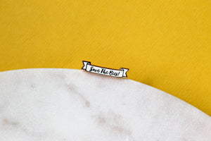 Save the Bees Enamel Pin
