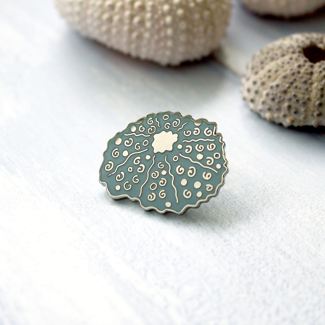 Sea Urchin Enamel Pin