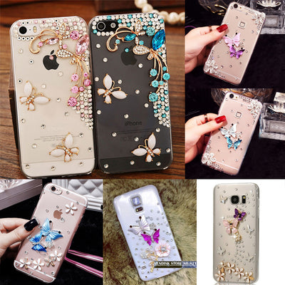 10 Styles The Butterfly Phone Cover Case For Samsung Galaxy S8 Plus Phone Back Cases Shell For Samsung S8