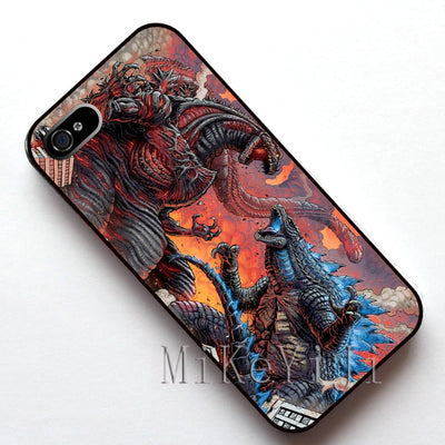 #11627 Shin Gojira Vs Legendary Godzilla Case Cover, Case For Apple Iphone 4s 5 5s SE 5c 6 6s 6plus 6s Plus