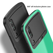 !ACCEZZ Business 360 Degree Full Protective Cases Cover For Huawei P20 Pro Frame Hard PC Luxury Colorful Phone Funda Shell Capa