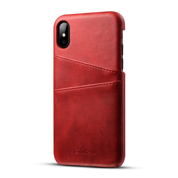 !ACCEZZ Luxury Leather Soft Back Cover Shell For IPhone XS/X/10 Anti-knock Protection Case For IPhone XS MAX/XR Funda Capa Coque