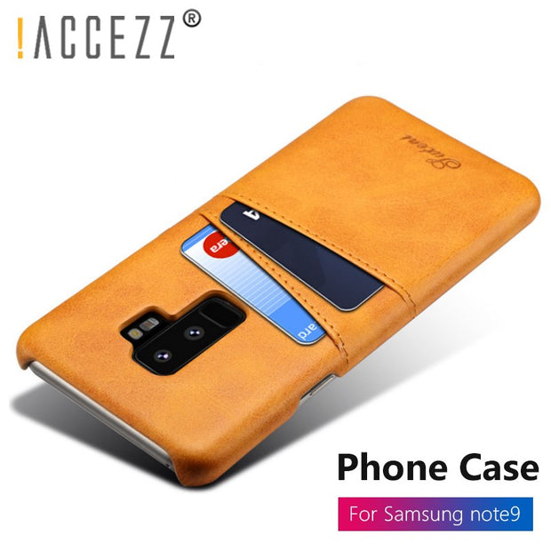 !ACCEZZ Shockproof Anti-knock Phone Cases For Samsung Galaxy S8 S9 Plus Protection Back Shell Cover For Samsung Note 8 9 Fundas