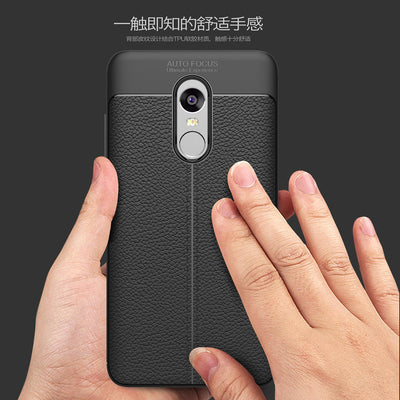 ALIVO For Xiaomi Redmi Note 4 Case New 2in1 Design Tpu+leather Pattern Full Coverage Protector Fitted Case For Redmi Note4 Cover