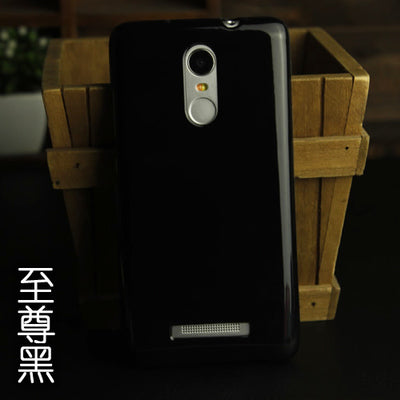 "Anti-Knock Soft Silicon Case For Xiaomi Redmi Note 3 Phone Cover 5.5"" Solid Color Jelly Soft Shell Note3"