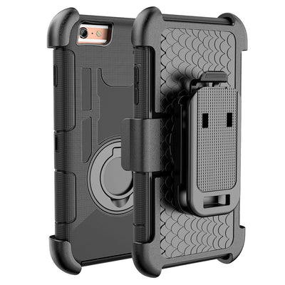 Armor Case For Iphone 6 Case 3 In 1 Belt Clip Silicone Stand Cover For IPhone 6 Plus Shockproof Phone Shell Coque