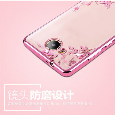 Case For Huawei Y6 2017 Mya-l11 Mya-l41Case Luxury Plating Gilded TPU Silicone Cover Accessory Coque Fundas For Y6(2017) 5.0inch