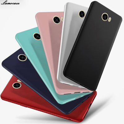 Case Soft Silicone For Huawei Honor 5A LYO-L21 Y6 Ii Compact CUN-U29 Y5 II CUN-L21 Full Body Slim Cover Protective Matte Cases