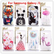 Crystal Diamond 3D Case For Samsung GALAXY J1 J100 Bling Shine Hard Protector For Fundas Samsung Galaxy J1 2015 J100 J100F