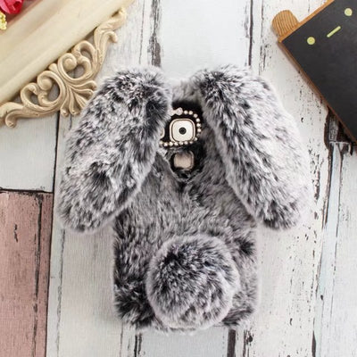 Cute Bunny Plush Case For Coque Huawei Nova Plus Case Soft TPU Silicone Rabbit Furry Cover For Huawei Nova Plus 5.5'' Case Etui