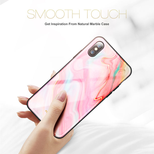 FLOVEME Agate Marble Phone Case For IPhone X 7 7 Plus 8 8 Plus Case Chic Luxury TPU Back Cover Case For IPhone X 8 8 Plus Coque