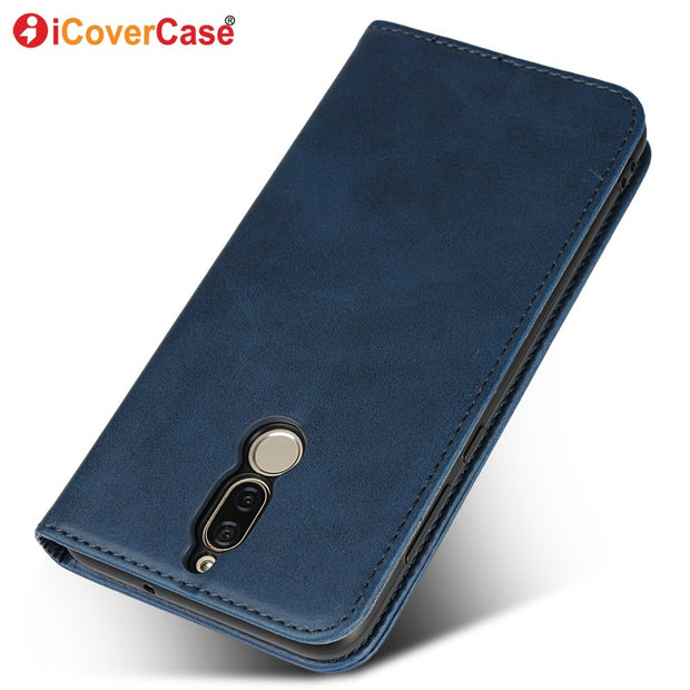 Flip Cover For Huawei Mate 10 Lite Case Business Leather Stand Book Wallet Phone Cases For Huawei Nova 2i Coque Funda Accessory